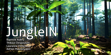 [2012] JungleIN, a 3D viewer in OpenGL.