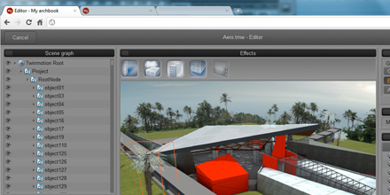 [2011] WebGL for architecture (Internship)