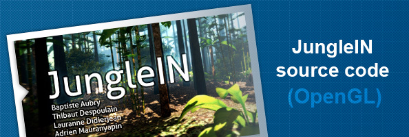 OpenGL jungle viewer source code and report - Blog - (BKcore